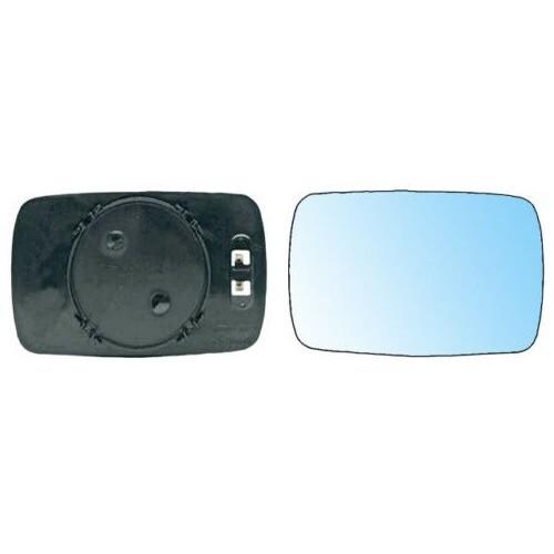 Verre Plat couleur Bleu avec Fixation OE: 51168119162 BMW Série 3 (E36) de 1990 à 2000