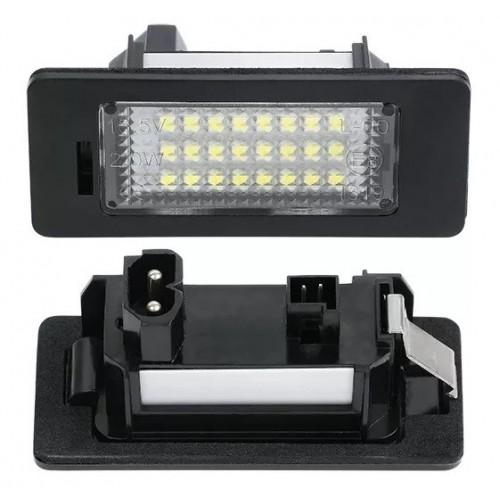 Eclairage de Plaque d'immatriculation arrière LED OE: 63267193293 BMW X1 (E84) de 2009 à 2015