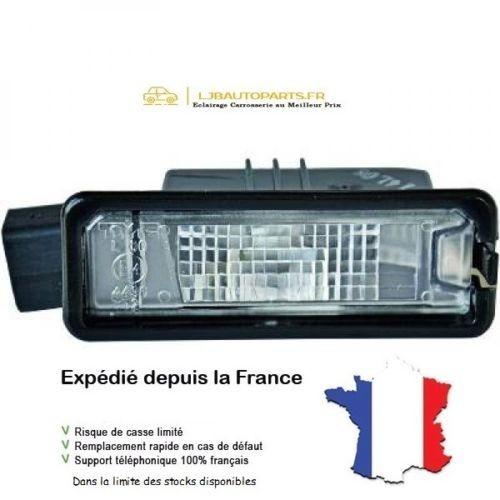 Feu éclaireur de plaque Gauche ou Droit OE: 1K8943021 VW Golf VI 3/5 portes 5K de 2008 à 2013