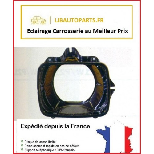 Support de phare optique avant gauche toyota hilux YN 110 4WD 1989 à 1997