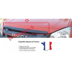 Enjoliveur Baguette de capot Noir Isuzu D-Max 4 portes Après 2012