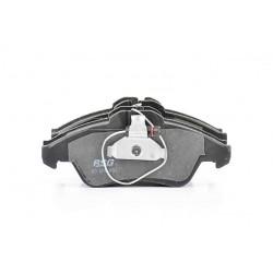 Kit de plaquettes de frein Mercedes Sprinter 2-T Bus (W901, W902) (79 - 156 CH, 02.1995 - 05.2006 ac) OE A0024203920