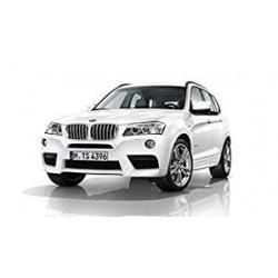 Barre de Remorquage avec Filetage droit pour BMW X3 (F25) de 2010 à 2014