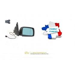 Rétroviseur droit chauffant repliable électriquement avec éclairage de Seuil OE: 51167039926 BMW X5 (E53) de 2003 à 2006