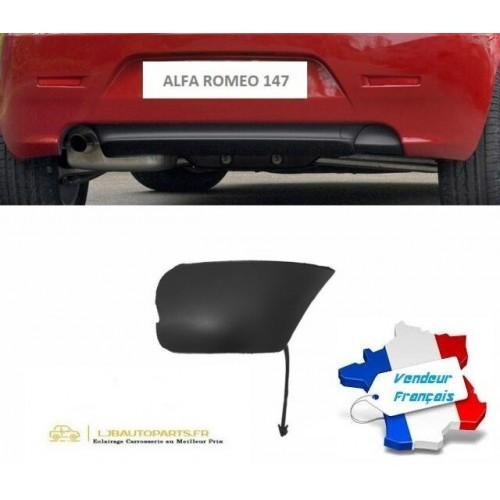 Cache de dispositif d'attelage pour Pare-chocs arrière OE: 156075100 Alfa Romeo 147 (937) de 2004 à 2010