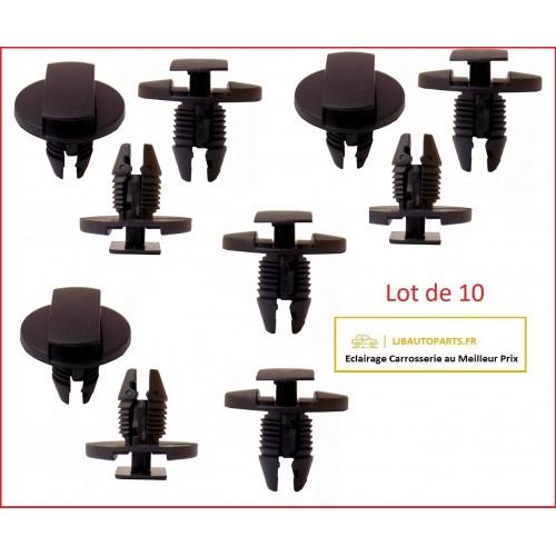 10 chevilles protection sur moteur RXC60151 Citroen C6 de 2005 à 2012