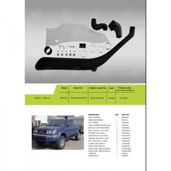 snorkel-pick-up-navara-d22-terrano-2-avec-abs-1997-a-2002-neuf