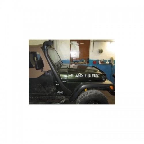 Snorkel Jeep Wrangler TJ de 1997 à 2006 NEUF