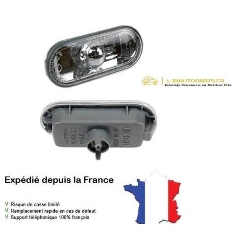 Clignotant répétiteur d'aile limpide Gauche Droit SEAT Cordoba II 2002 à 2009