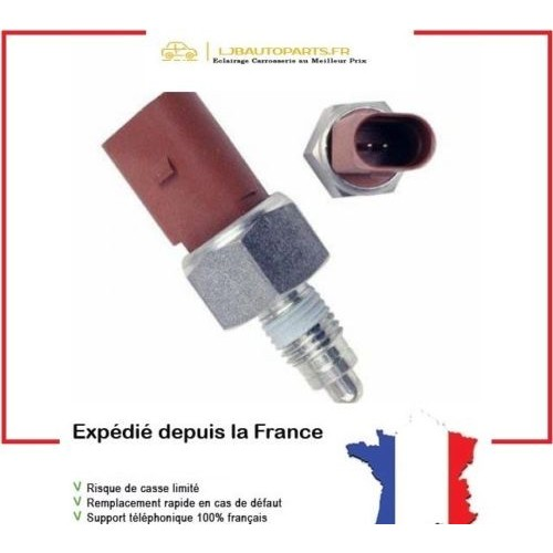 Contacteur feu de recul OE 02T945415 Audi A2 (8Z) 01/2000 à 12/2005