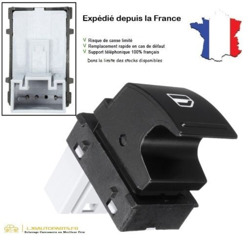 Interrupteur lève-vitre Gauche ou Droit OE 1K0 959 855 / 1K0959855REH