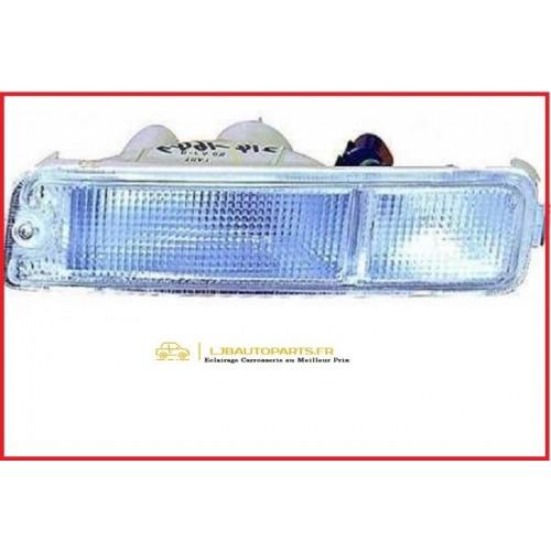Feu Clignotant Gauche Mitsubishi L200 2001 à 2006 blanc conducteur