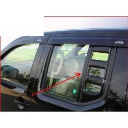 2 garnitures noires vitres arrières Nissan Navara D40 de 2005 à 2014