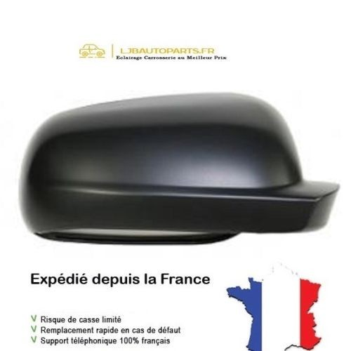 3B1857538B Coque rétroviseur Petit Noir texture Droit SEAT Cordoba I Vario 1999 à 2002