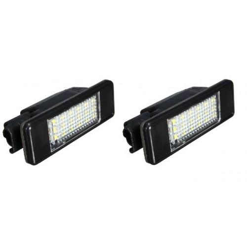 2 Feu Plaque d'immatriculation LED 6340F0 Citroen DS3 de 2010 à 2015