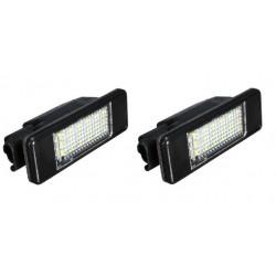 2 Feu Plaque d'immatriculation LED 6340F0 Citroen C-Elysée 2012 à 2017