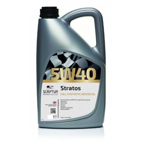 Scriptum Stratos huile 10W40 haute performance ACEA A3 / B3 API SL CF