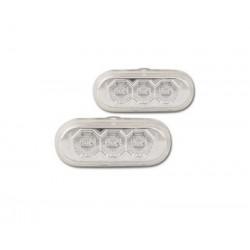 2 Clignotants répétiteurs LED Ailes avant pour VW Bora de 1998 à 2005
