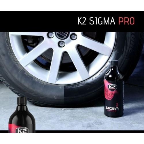 Vernis à pneus K2 Sigma Pro 1L