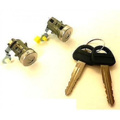 2 serrures porte SUZUKI VITARA 1988 à 1998 avant gauche droite 2 clés