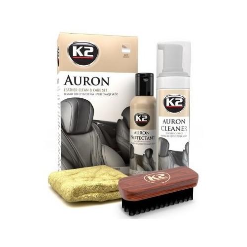 K2 Auron Kit de soins pour le cuir