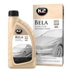 K2 BELA 1L énergie à base de fruits Mousse active parfumée au pH neutre