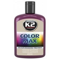 K2 cire brillante MAX 200 ML Couleur bordeaux