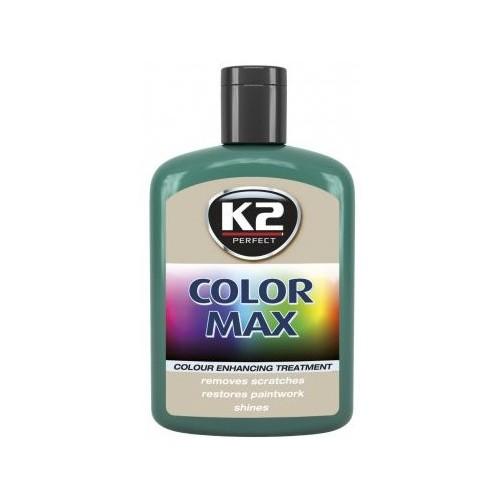 K2 cire brillante MAX 200 ML Couleur vert foncé