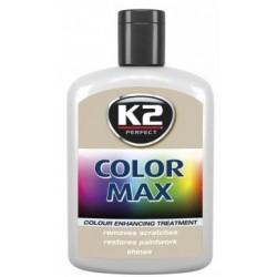 K2 cire brillante MAX 200 ML Couleur argent