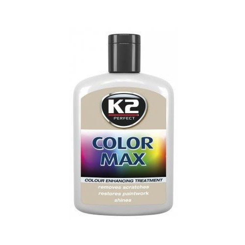 K2 cire brillante MAX 200 ML Couleur gris