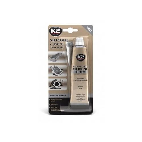 K2 Silicone gris 85 G à haute température +350°C