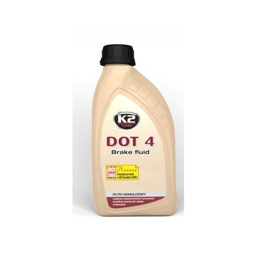 K2 liquide de frein DOT 4 version 0.5L