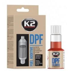 Additif, régénération du filtre à particules K2 DPF 50 ML