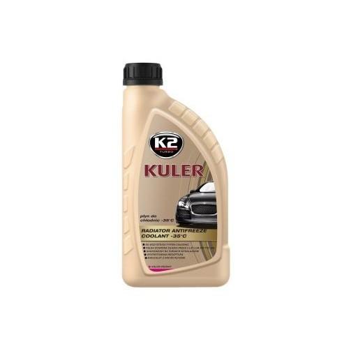 K2 KULER LONG LIFE 1L Liquide de refroidissement rose -35C Antigel