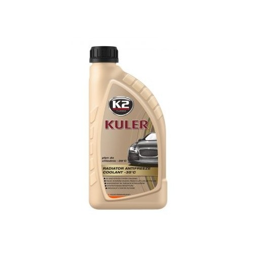 K2 KULER LONG LIFE 1L Liquide de refroidissement orange -35C Antigel