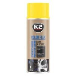 K2 Color Flex bombe peinture-film jantes couleur jaune 400ml