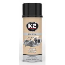 Bombe 400 ML Spray zinc à haute température K2