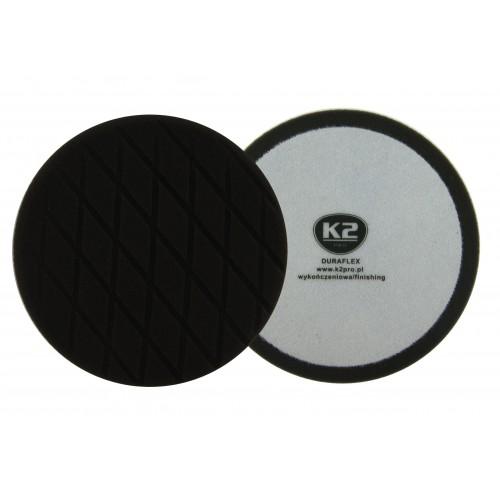 K2 DURAFLEX tampon polissage finition noir velcro diamètre 150 mm