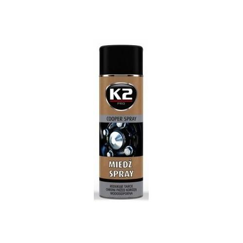 K2 SPRAY EN CUIVRE 400 ML Haute température