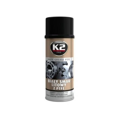 K2 Spray 400 ML Graisse blanche avec PTFE