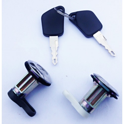 2 Serrures + clés de portes avants Peugeot 106 1991 à 1996