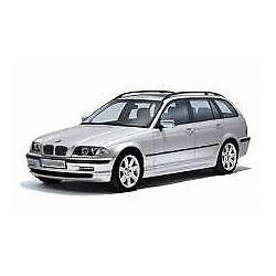 Cache dispositif d'attelage arrière OE: 51128215120 BMW Série 3 (E46) de 1998 à 2001