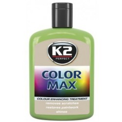 Cire brillante k2 de Couleur vert clair MAX 200 ML