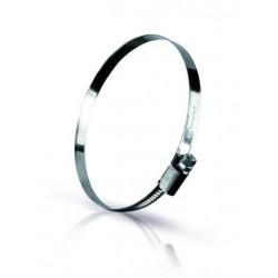 Lot de colliers à vis sans fin acier inoxydable W2 Taille 16-27 / 9mm