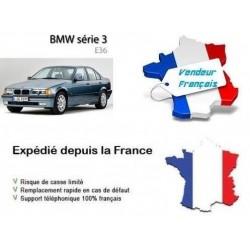 Baguette de Pare-chocs arrière Centrale Noir OE: 51128146093 BMW Série 3 (E36) de 1994 à 2000
