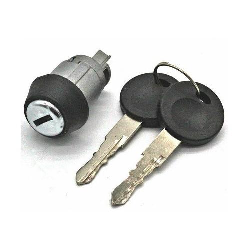 Cylindre serrure VW Jetta 1979 à 1984 + 2 clés OE 1 H0-191905855