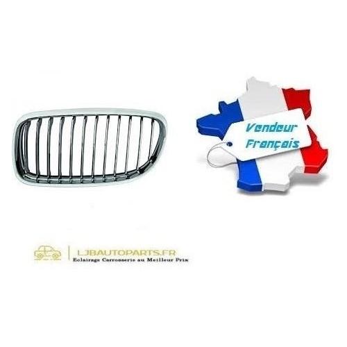 Grille de Calandre avant gauche Chromé OE: 51137201967 BMW Série 3 (E90/E91) de 2008 à 2012