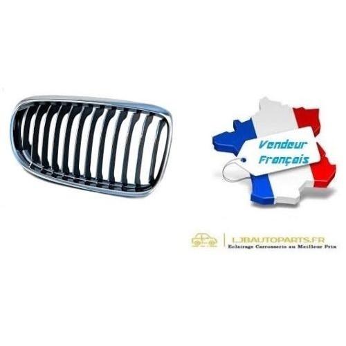 Grille de Calandre avant droit Chromé/Noir OE: 51137201970 BMW Série 3 (E90/E91) de 2008 à 2012