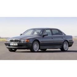 Baguette Centrale Chromé pour Pare-chocs arrière OE: 51128125435 BMW Série 7 (E38) de 1994 à 2001