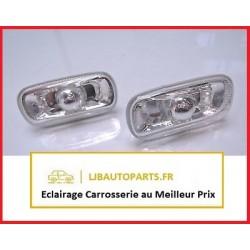 2 Clignotant répétiteur transparent AUDI A4 2000 à 2004 OE 8E0949127